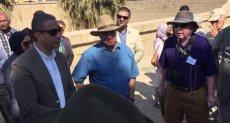 جانب من زيارة الوفد السياحية