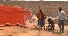 معاناة النازحين الصوماليين