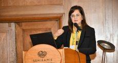 وزيرة التخطيط والمتابعة والإصلاح الإدارى الدكتورة هالة السعيد