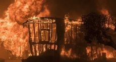 كاليفورنيا تحترق