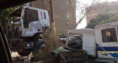 مواطنة تشكو من ورش تصليح سيارات النقل في صقر قريش