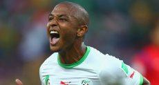اللاعب الجزائري ياسين إبراهيم