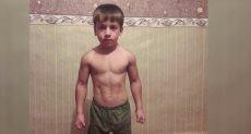 الطفل الشيشانى