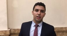 الطالب أحمد إيهاب، رئيس اتحاد طلاب جامعة القاهرة،