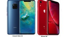 هاتف Mate 20 pro يتفوق على iPhone XR