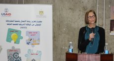 شيري كارلين مديرة الوكالة الأمريكية للتنمية الدولية في مصر
