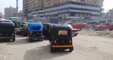 شوارع شبرا الخيمة.. فوضى مرورية متكررة