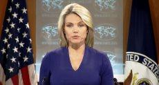 المتحدثة باسم الخارجية الأمريكية هيذر ناورت