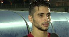 محمد محمود يشارك في مران الأهلي