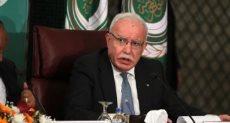 وزير الخارجية الفلسطينى، رياض المالكى