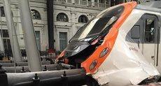 حادث قطار بكتالونيا