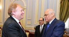 عبدالعال يستقبل الدكتور ستيفان هيلر نائب رئيس برلمان المجر
