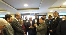 وزير المالية يفتتح مبنى الضرائب العقارية بمدينة الشيخ زايد