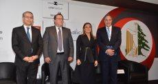 ممثلي الشركات اللبنانية مع الوزيرة سحر نصر