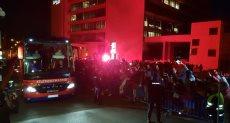 جماهير أتليتكو مدريد تشعل الشماريخ قبل مواجهة برشلونة الليلة