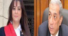 الشهيد هشام بركات وابنته المستشارة مروة