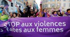 آلاف النساء فى شوارع مدن أوروبية لمحاربة العنف ضد المرأة