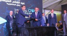 أحمد مكي رئيس شركة فايبر مصر خلال توقيع الاتفاقية