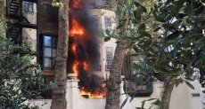 حريق بمبنى سولوتورن بسويسرا
