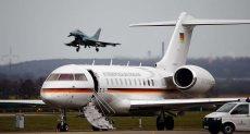 تعطل طائرة ميركل قبل وصولها الأرجنتين