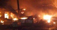 حريق يدمر سوق أم درمان بالسودان