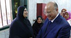 محافظ القاهرة خلال حملة 100 مليون صحة