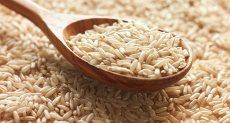 الأرز البنى
