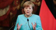 أنجيلا ميركل وزيرة الخارجية الألمانية