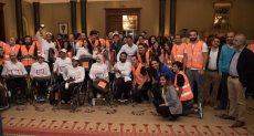 فريق شركة اورنچ مصر اثناء المشاركة في البرنامج التدريب The BP Race دعما لذوي القدرات الخاصة