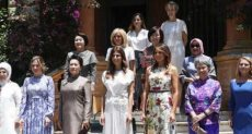 اجتماع زوجات زعماء قمة العشرين حديث مواقع التواصل