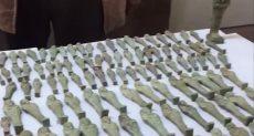 ضبط مدير إدارة بالتربية والتعليم بحوزته 346 تمثالا أثريا