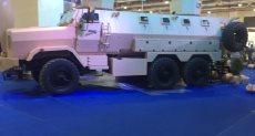 جانب من المنتجات العسكرية المعروضة بالجناح المصرى