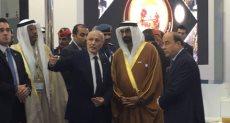 الدكتور محمد العصار وزير الإنتاج الحربى  مع محمد بن حمد وزير الدفاع الإماراتي