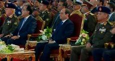 الرئيس السيسي في افتتاح معرض ايديكس 2018