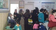 أحد مراكز حملة 100 حملة صحة بالإسماعيلية