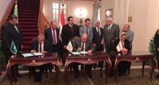 مجلس الدولة يوقع برتوكول تعاون مع الأكاديمية العربية البحرية