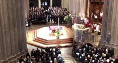 مراسم تأبين جورج بوش الأب