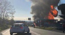 انفجار محطة وقود - أرشيفية