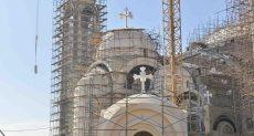 اللمسات النهائية لكاتدرائية العاصمة الجديدة قبل احتفالات الميلاد