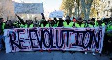 اشتباكات بين الشرطة والمتظاهرين فى فرنسا