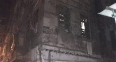 انهيار عقار بالإسكندرية