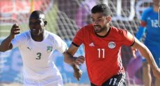 مصر وكوت ديفوار في بطولة إمم إفريقيا للكرة الشاطئية