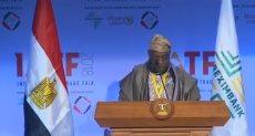 الرئيس النيجيرى السابق أولوسيجون أوباسانجو
