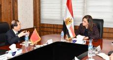 وزيرة التخطيط تلتقي السفير الصيني بالقاهرة
