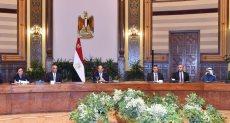 السيسى ووفد رؤساء وممثلى كبرى صناديق الاستثمار العالمية والإقليمية