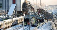 حوادث القطارات فى تركيا