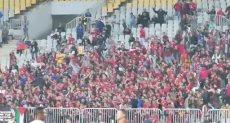فرحة جماهير الأهلي بعد التقدم علي بطل إثيوبيا