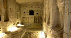 المقبرة المكتشفة فى سقارة