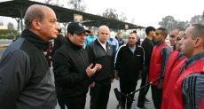 الرئيس عبدالفتاح السيسي مع طلبة الكلية الحربية