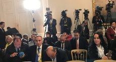 قاعة المؤتمر الصحفى بين الرئيس والمستشار النمساوى